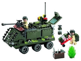 Конструктор Brick 814 Военная серия Бронетранспортер