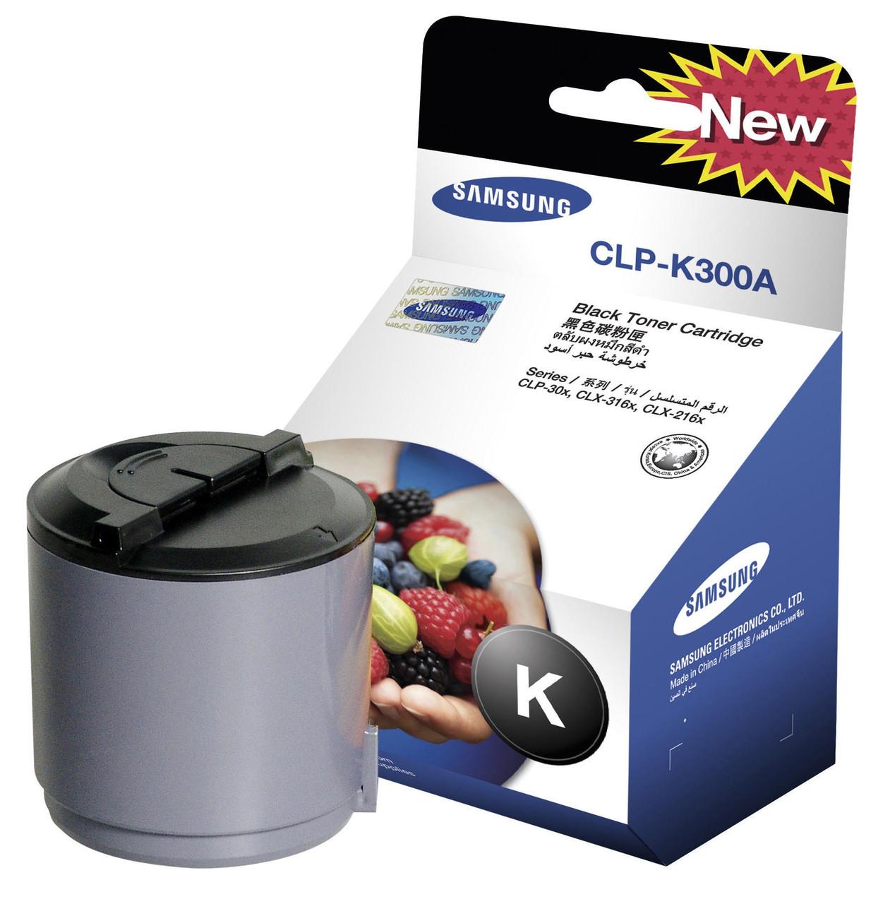Заправка картриджа Samsung CLP-300(Black)