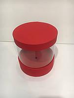 Прозора коробка (акваріум)для стабілізованої троянди h16/d16
