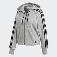 Женская толстовка Adidas Performance Must Haves 3-Stripes (Артикул: DW9694), фото 1