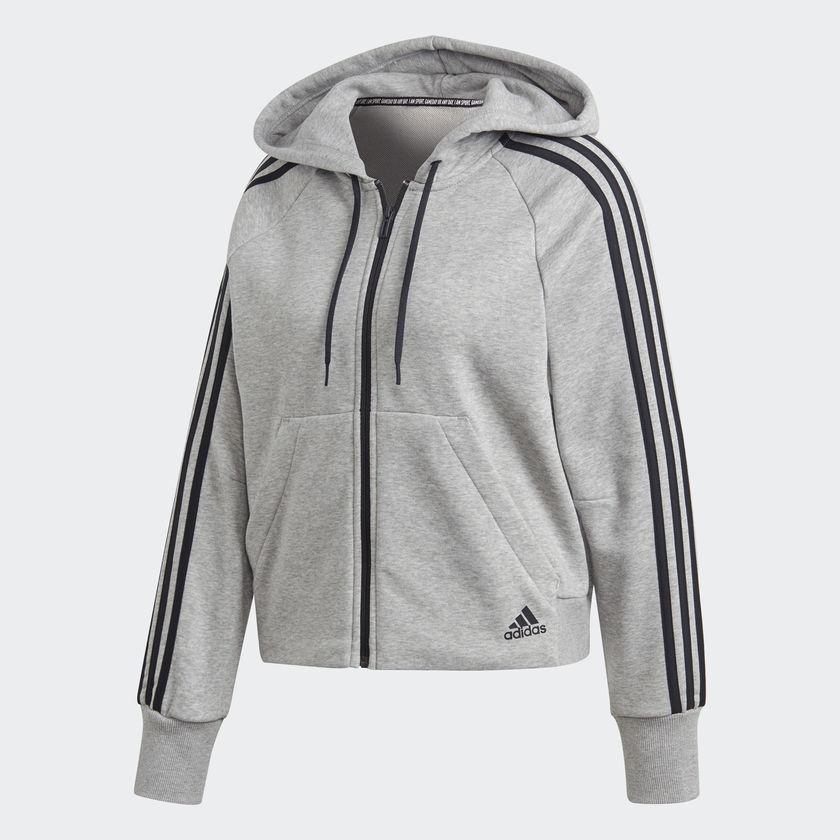 Женская толстовка Adidas Performance Must Haves 3-Stripes (Артикул: DW9694)