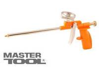 MasterTool  Пистолет для монтажной пены 290 мм, пластиковый корпус, металлический баллоноприеник, Арт.: 81-8674