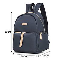 Женский рюкзак Ecosusi Kim серый , фото 6