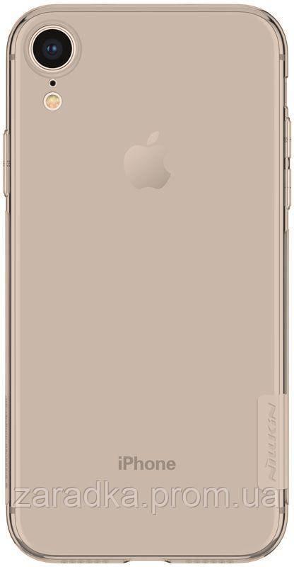Чехол-накладка Nillkin Nature TPU Case Apple iPhone Xr Brown ... 0d7a172e4ba32