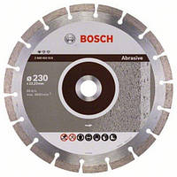 Диск отрезной сегментный Bosch по абразивным материалам Professional 230