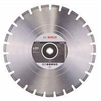 Диск отрезной сегментный Bosch по асфальту Professional 400