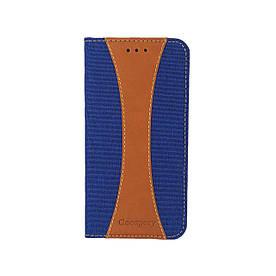 Чехол книжка для Huawei Honor 7A DUA-L22 боковой с отсеком для визиток, Mercury GOOSPERY Canvas Series, Синий