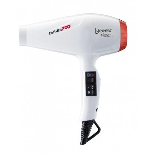 Професійний фен з іонізацією BaByliss PRO Luminoso Bianco BAB6350IE