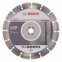 Диск отрезной сегментный Bosch по бетону Professional 115