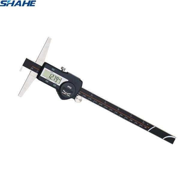 Штангенглубиномер с крючком Shahe 0-200 мм/0,01 мм (5113-200A)