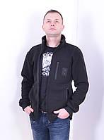 Кофта флисовая для полиции, БАЗА - 260 гр/м Черная, фото 1