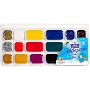 Краски акварель Луч Престиж 18с1232, 18 цветов, б/кист