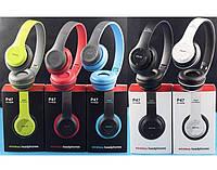 Беспроводные наушники Wireless P-47 Bluetooth, MP3 и FM радио