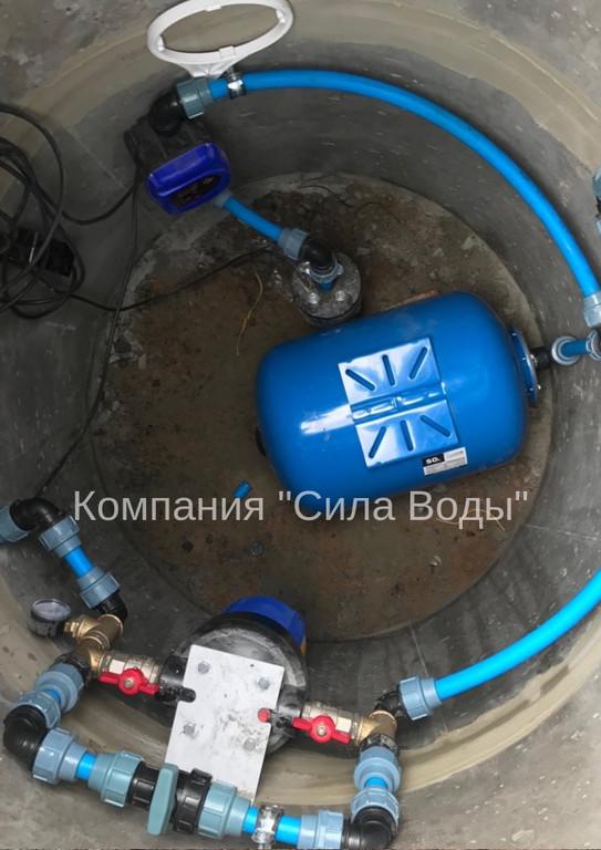 Капитальное обустройство скважин на воду