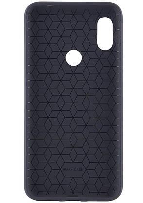 Чохол-накладка iPaky для Xiaomi Redmi Note 6 PRO TPU+PC Чорний/Синій, фото 2