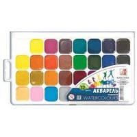 Краски акварель медовые Луч 26c1579, 32 цвета, б/кист
