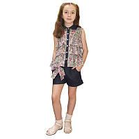 Детский летний костюм для девочек Модняша