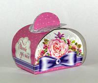 Бонбоньерка, Презент, 30 грамм, подарочная упаковка для конфет, Днепр