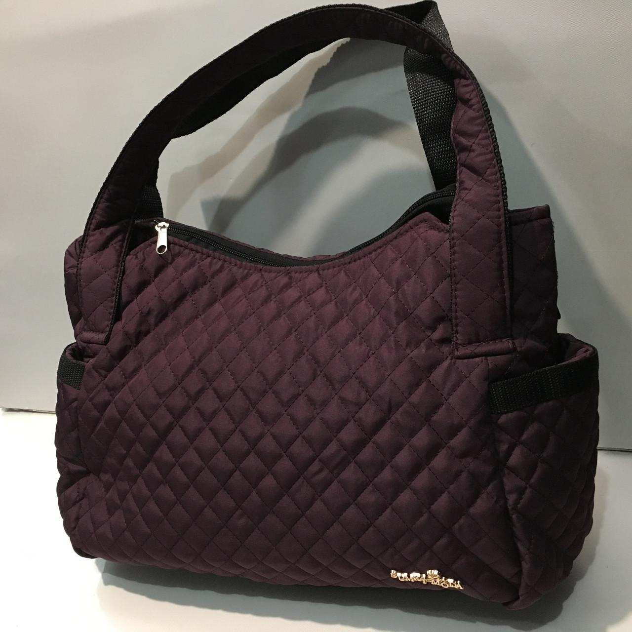 345506e768e9 Стильная стеганая болоньевая сумка. Модная женская сумка. Удобная,  вместительная сумка оптом