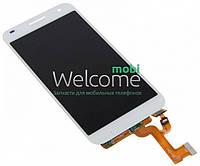 Модуль Huawei Ascend G7 (G760-L01) white дисплей экран, сенсор тач скрин Хуавей Хуавэй