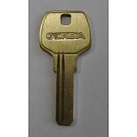 Gerda(2.4mm)(1)  Заготовка ключа вертикальной нарезки/