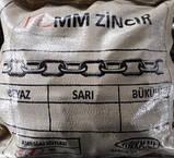 Ланцюг оцинкована 6мм, Zinsan Туреччина, фото 2