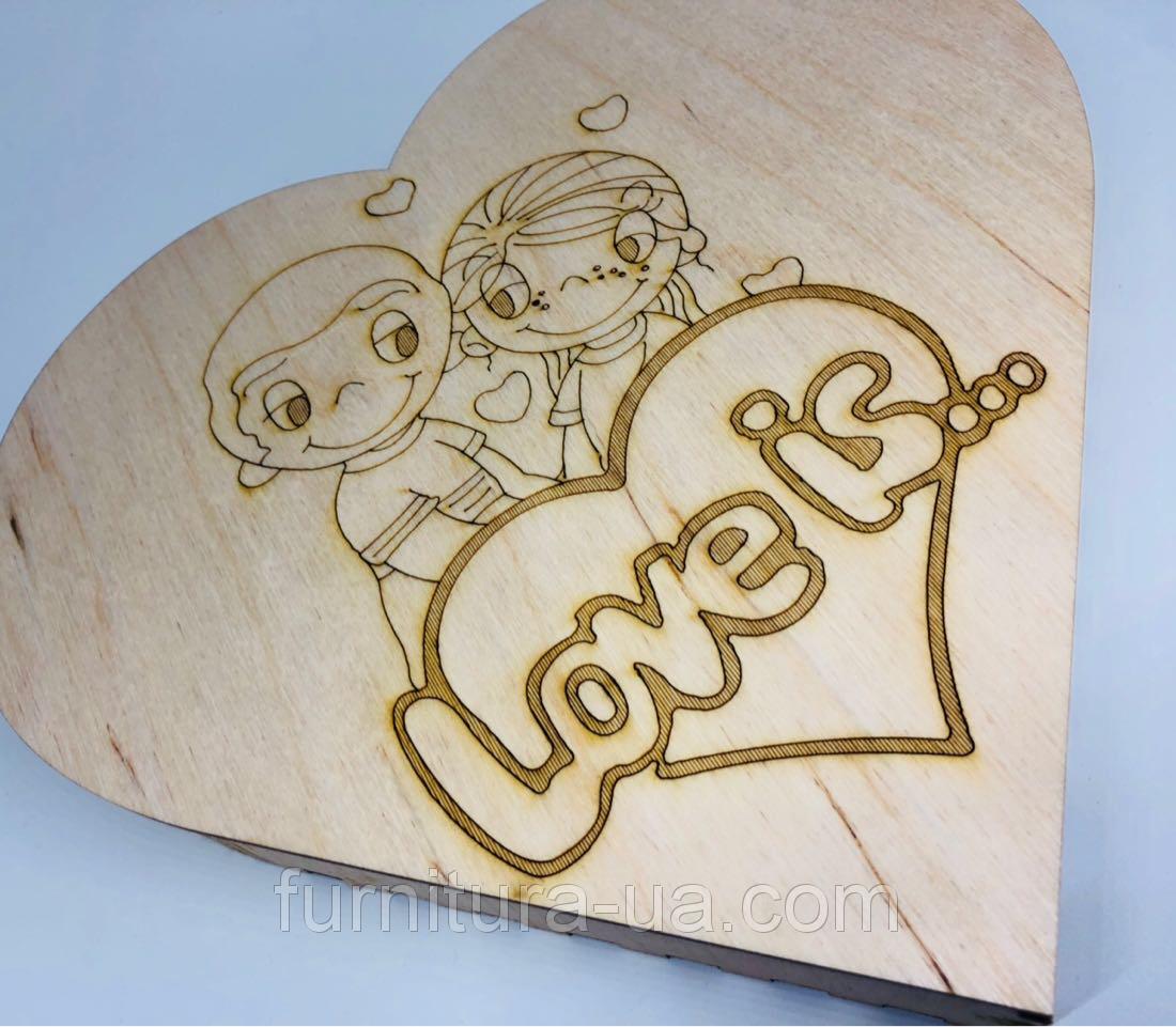 Шкатулка Серце Love