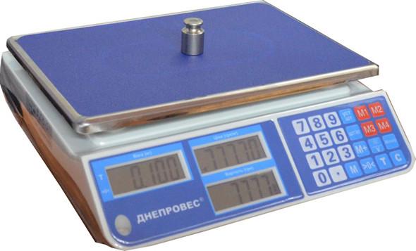Весы торговые Днепровес F902H-3СL1