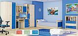 Кровать Денди (Мебель-Сервис)  2076х1000х646мм , фото 2