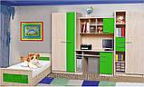 Кровать Денди (Мебель-Сервис)  2076х1000х646мм , фото 3