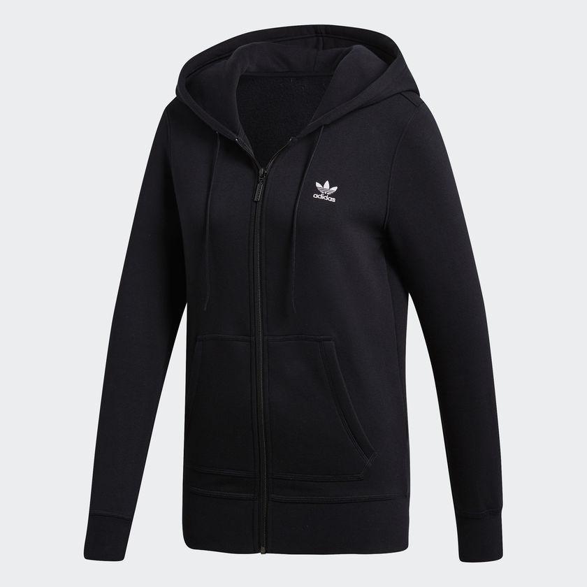 Женская толстовка Adidas Originals Zip (Артикул: DU9608)