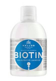 Шампунь Kallos Biotin 1000мл (c биотином), фото 2