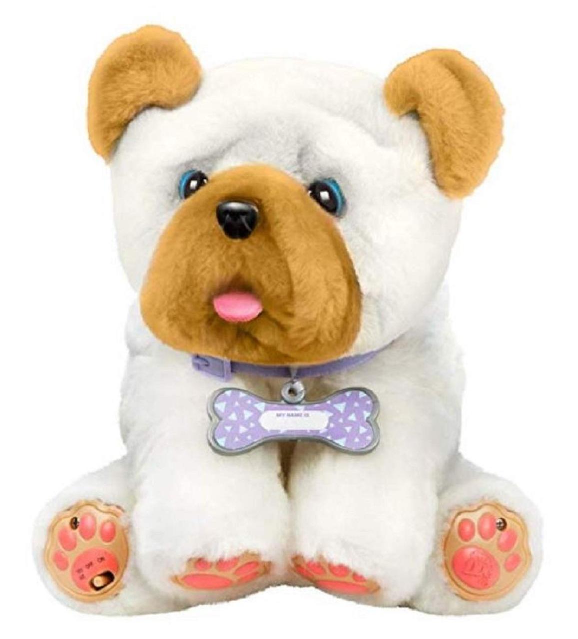 Интерактивная игрушка Щенок Вринкл Люблю целоваться Little live pets Wrinkles Moose