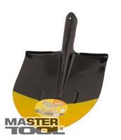 "MasterTool  Лопата штыковая ""Американка"" 240*290*425 мм черно-желтая покраска 0,9 кг, Арт.: 14-6257"