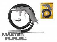 MasterTool  Пистолет пескоструйный пневматический со шлангом, Арт.: 81-8706