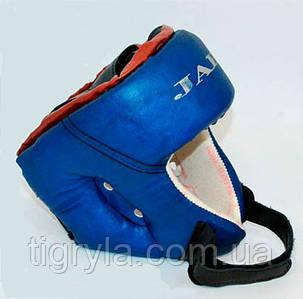 "Шлем боксерский кож .зам. ""ТМ JAB"" - защита для головы"