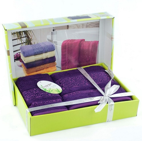 Комплект полотенец бамбук