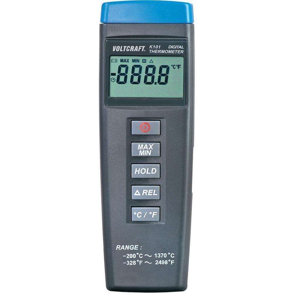 Термометр Voltcraft K101 (-200...+1370 °C) термопары: K / J. Германия