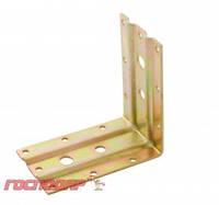 Господар  Уголок мебельный под анкер два ребра жесткости 100*100*65 мм (L185) , Арт.: 92-0979