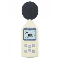 Профессиональный цифровой шумомер Benetech GM1358 (SR5814) (30 - 130dB) AC/DС выход. В кейсе