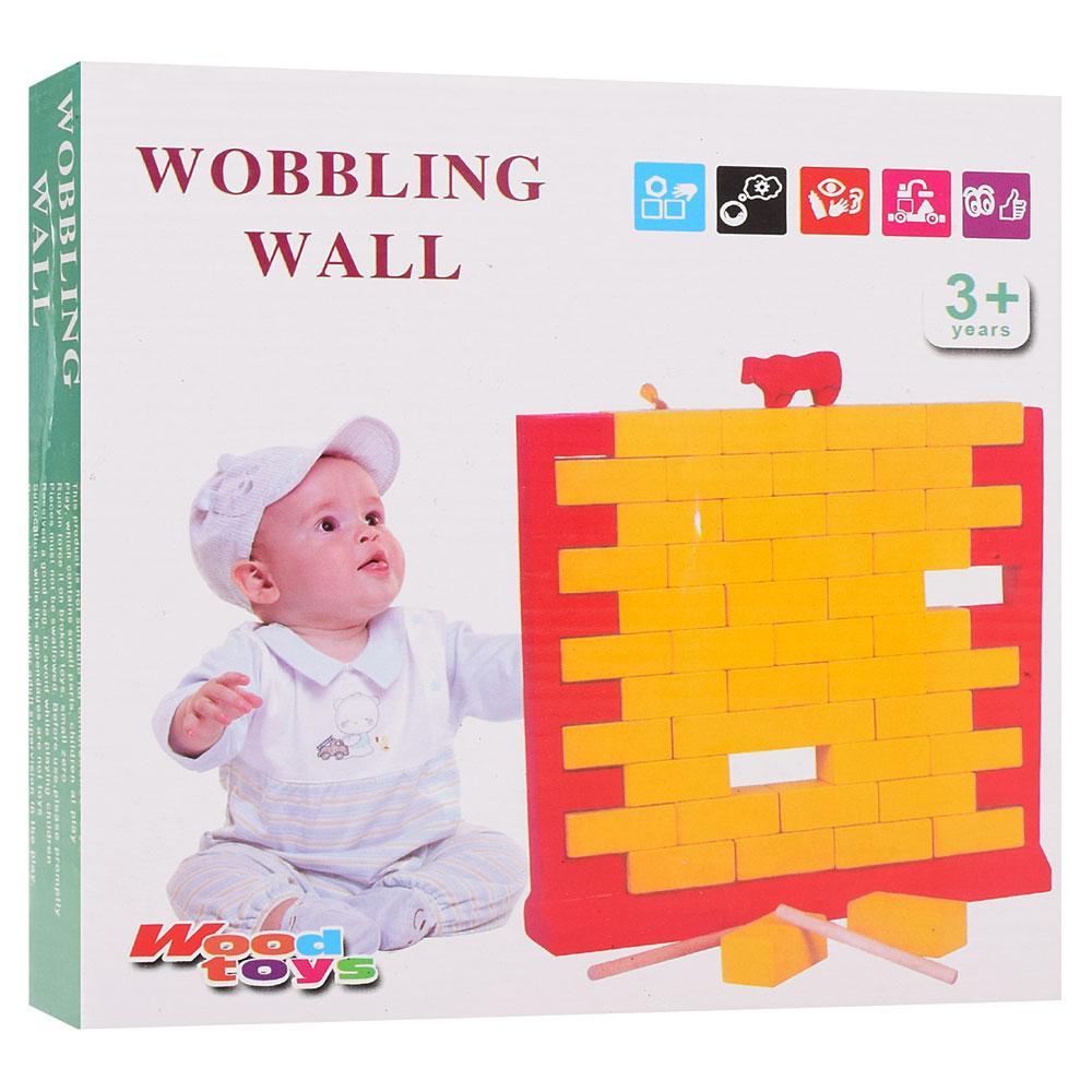 """Деревянная настольная игра """"Кошка на стене"""" арт. MD1277 20,5-21-4,5 см (Woody)"""