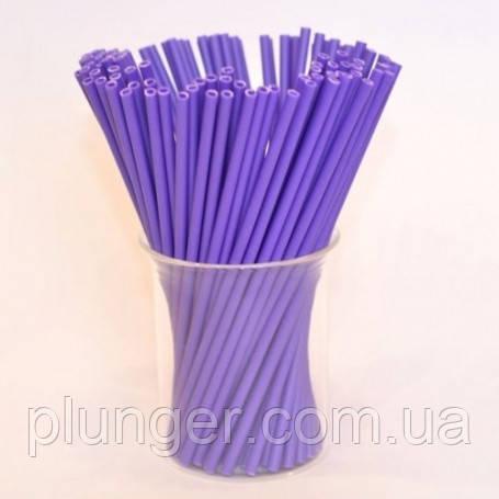 Палочки пластиковые сиреневые для Кейк-попсов, леденцов, цена за 1 шт