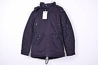 Куртка мужская из водоотталкивающей ткани (цв.чёрный) зимняя Black Wolf Размеры в наличии : 48,52,54,56 арт.88