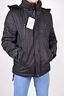 Куртка мужская из водоотталкивающей ткани (цв.чёрный) зимняя SCOTCH CCWZ Размеры в наличии : 46,48,50,52,54 ар