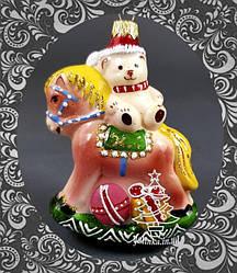 Стеклянные елочные игрушки Элита