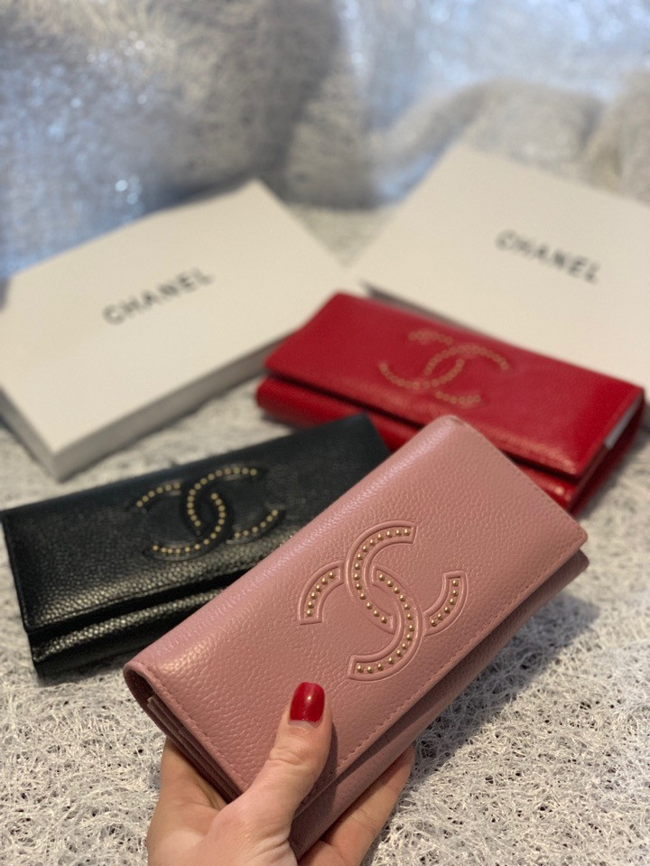 Кожаный кошелек с логотипом бренда «1099»