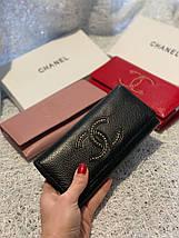 Кожаный кошелек с логотипом бренда «1099», фото 3
