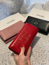 Кожаный кошелек с логотипом бренда «1099», фото 2