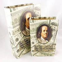 Шкатулки-книги Доллары