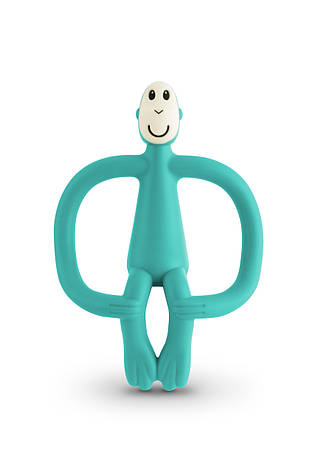 Игрушка-прорезыватель Matchstick Monkey (цвет зеленый, 10,5 см), фото 2